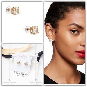 Kate Spade Crystal Gumdrop Studs Earrings Small